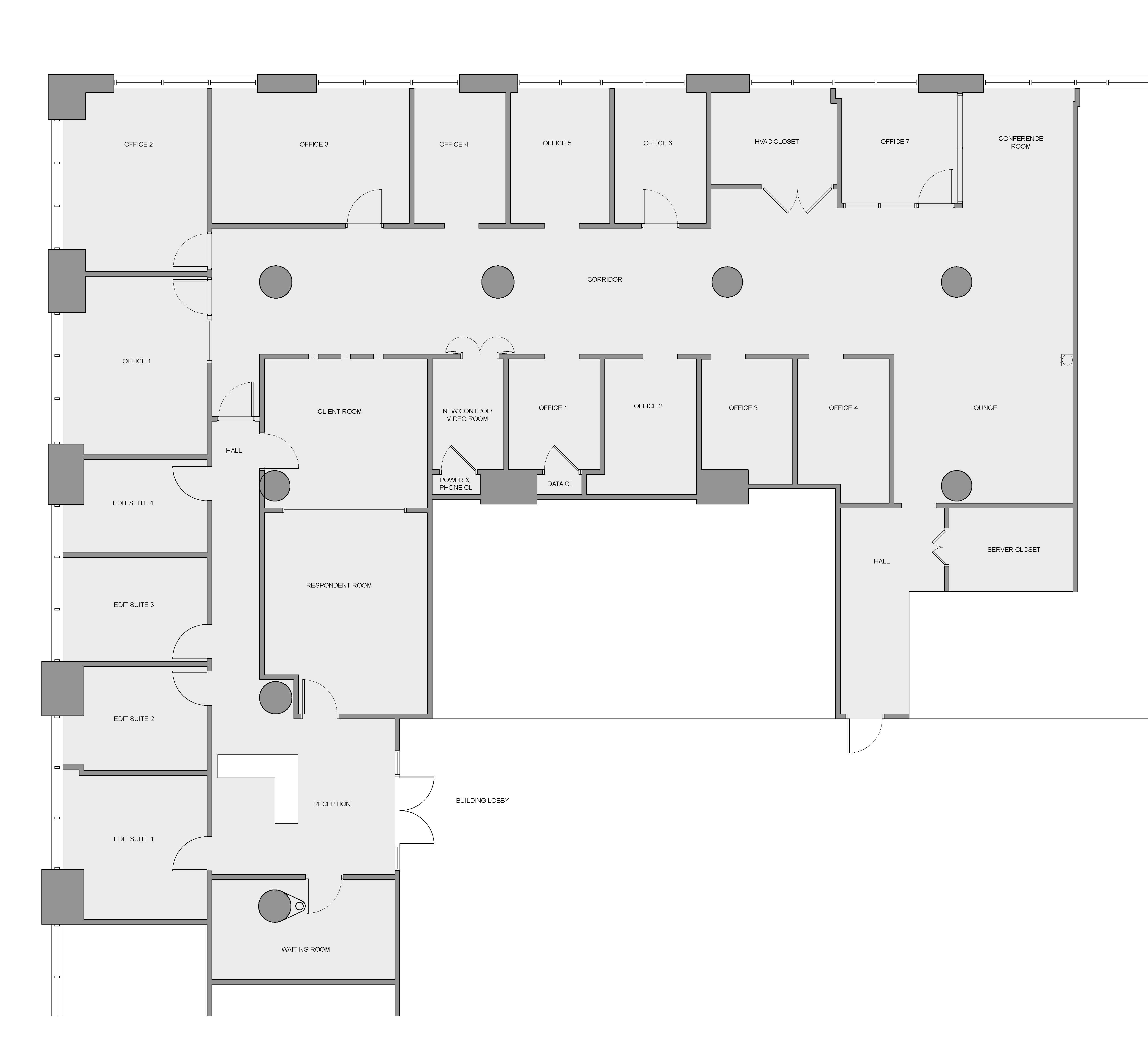 urban pioneering urban pioneering architecture dpc view floor plan this new york marketing and research firm located in tribeca had expanded over the years and their office layout was disorganized and felt